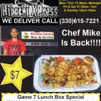 Chef Mike is BACK!!!935 Brown Street330-615-7221WE DLIVER