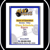 MAX LIFE TRAINING2196 Romig Rd. Akron, OH 44320330-962-2918