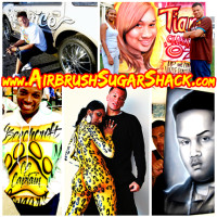 Sugar Ray's Airbrush Sugar Shack 3480 Cleveland Ave Columbus, Ohio614-735-4988