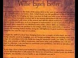 actual willie lynch letter